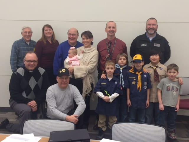 St Dom Cub Scout Pack 300 donation (1)