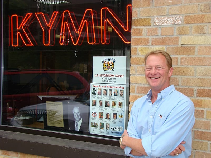 Jeff Johnson, Owner, KYMN Radio