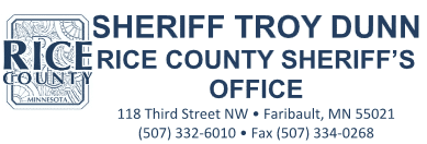 Rice Co. Sheriff logo